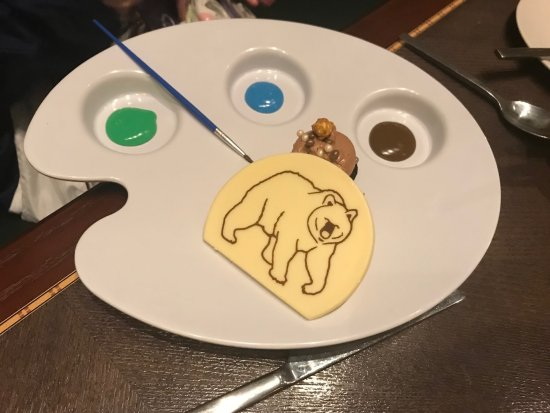 Kids Dessert - Picture of Story Book Dining at Artist Point with