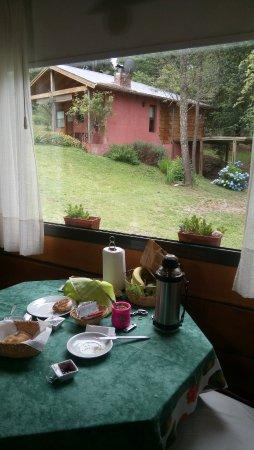 Villa Berna, Argentina: Desayunando