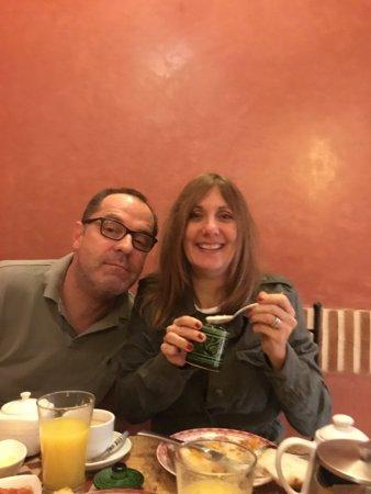 Riad Alili: great breakfasts!