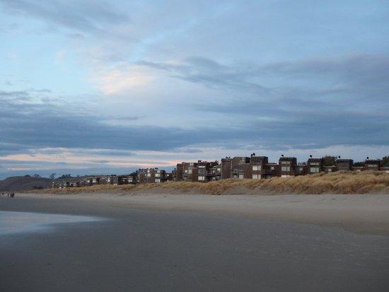Pajaro Dunes Resort View Of From Beach