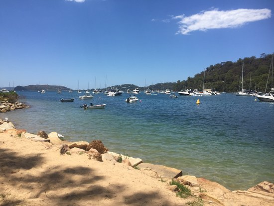 Pittwater, Australia: You can see Palm beach from here