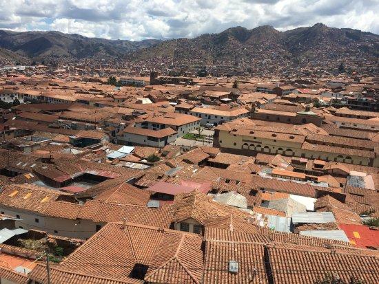 Hostal Wara Wara: Vista de Cuzco desde la Terraza