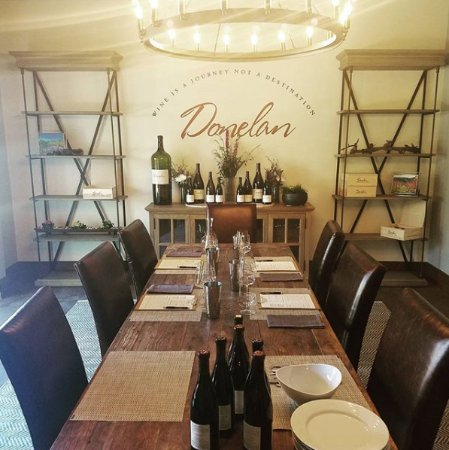 Donelan Family Wines: Ready for you to join us to taste!