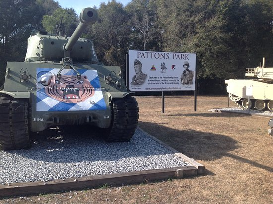 National Infantry Museum and Soldier Center : Armour at Patton's Park