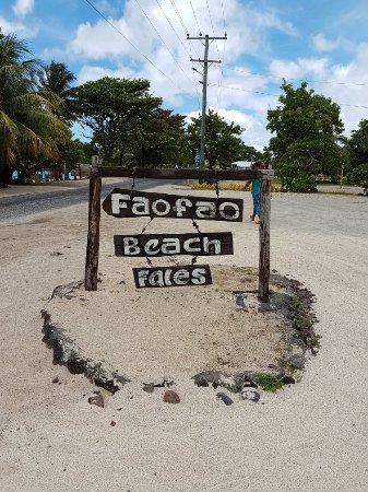 Saleapaga, Samoa: Faofao Beach Fales