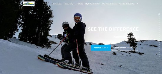 Squaw Valley, แคลิฟอร์เนีย: Worldwide independent, affordable family instructor mountain guides.
