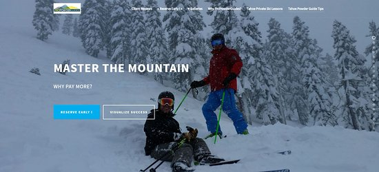 Squaw Valley, CA: Private Mountain Guides Lake Tahoe Resorts