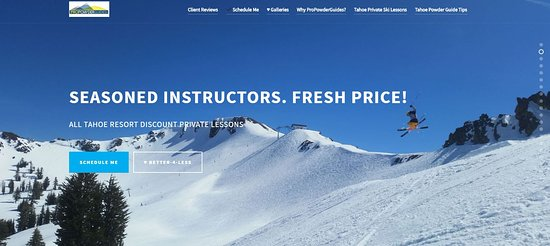 Squaw Valley, CA: #WHYPAYMORE propowderguides.com #BETTER4LESS