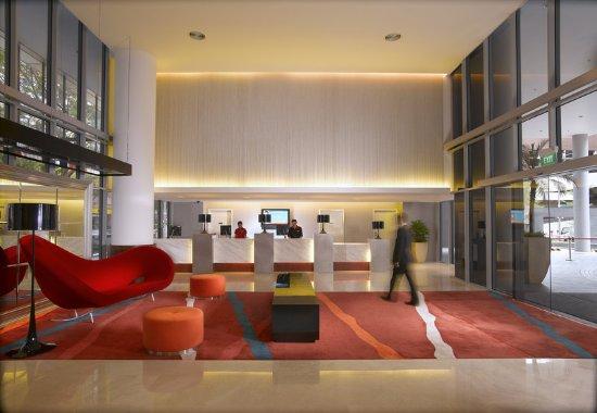 Ibis Singapore on Bencoolen: Lobby