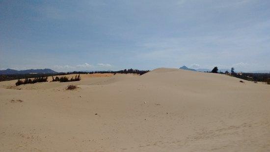 Phan Rang-Thap Cham, Vietnam: Đồi cát Nam Cương vẫn còn khá hoang sơ, chưa có nhiều dịch vụ ở đây