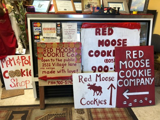 Red Moose Cookie Company Foto