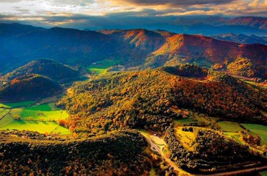 La Garrotxa vulkaniske sone naturpark...