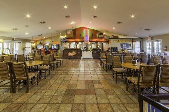 Restaurant obr zek za zen holiday inn club vacations for Piney shores resort cabine