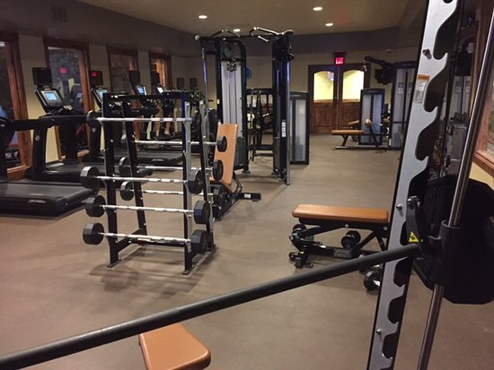 Lodge at Whitefish Lake: Fitness Center
