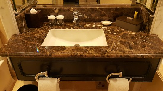Mandarin Orchard Singapore: Sink