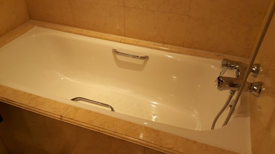 Mandarin Orchard Singapore: Bathtub