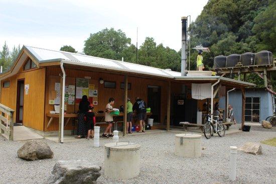 Motupiko, Nowa Zelandia: ablution block