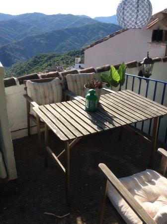 Benalauría, España: From our gorgeous Airb&b