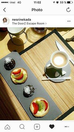 Casablanca, Marruecos: A nice coffee in a sunny day