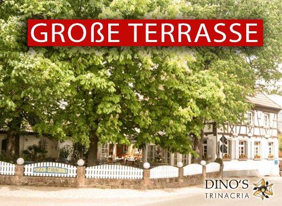 Friesenheim, Deutschland: Terrasse