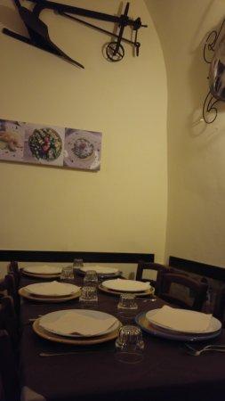 Osteria Le Arpie: interno locale