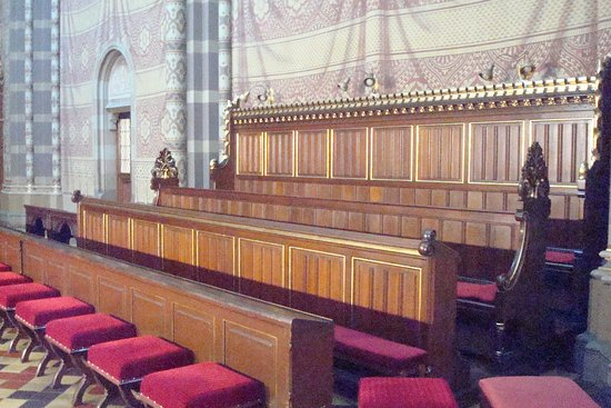 Dakovo, Croacia: Choir stalls