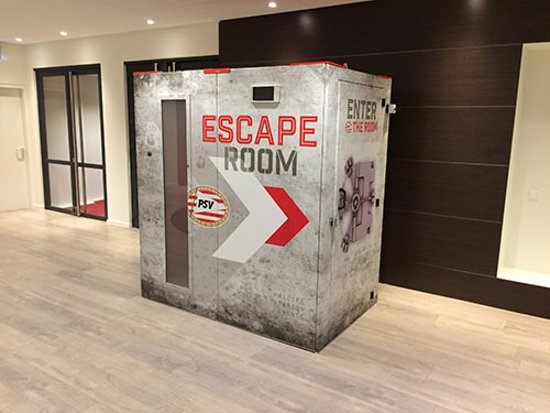 Mobiele Exitroom (Escaperooms): PSV Exitroom