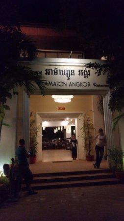 Amazon Angkor : ресторан