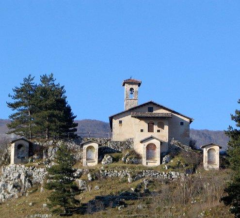 Tagliacozzo, İtalya: Chiesa del Calvario