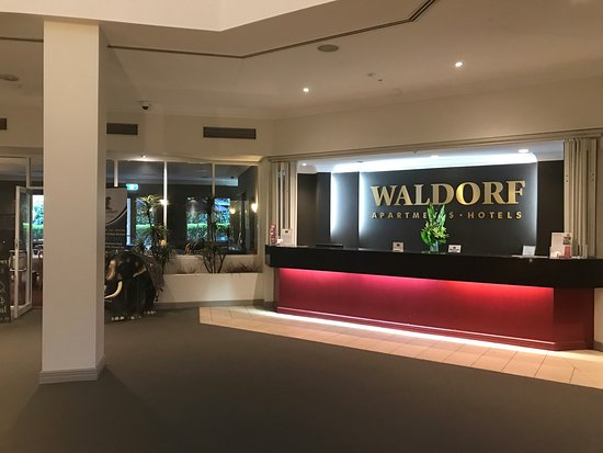 Pennant Hills, Αυστραλία: Reception area of the Waldorf Apartments