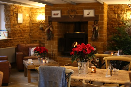 Kislingbury, UK: Our cosy Cafe