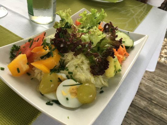 Horbranz, Østrig: Салат
