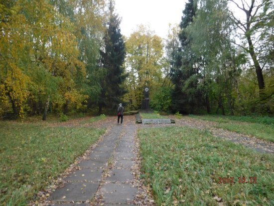Sobibor, Polen: Path to a memorial