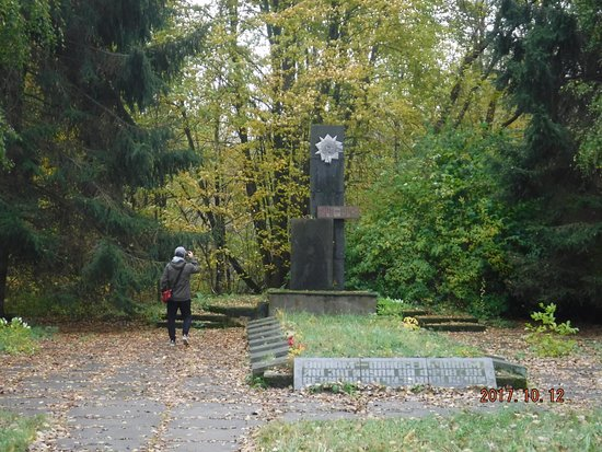 Sobibor, Polen: Memorial to the victims