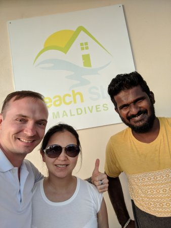 Beach Stay Maldives: With our host