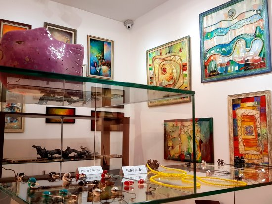 Plovdiv, Bulgaria: Paintings, jewellery