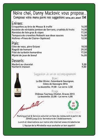 La Mirabelle Restaurant Brussels