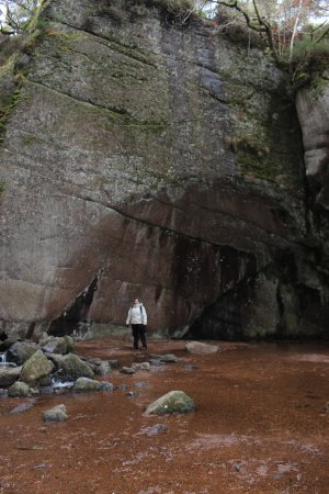 Dinnet, UK: You'd need a wide angle lens to appreciate the scale..