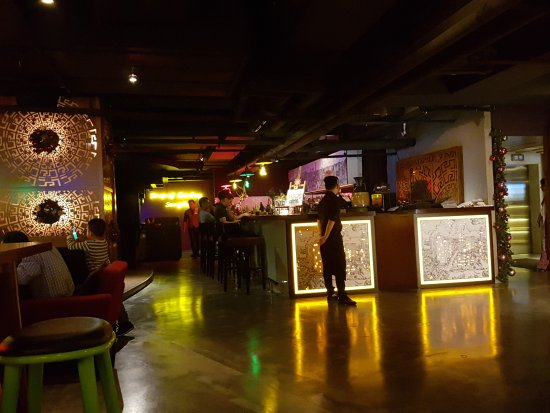 Funky interior