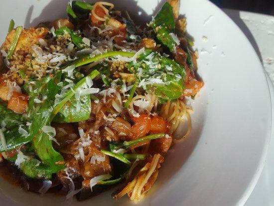 BRAVO Cucina Italiana: Spice scallop marinara