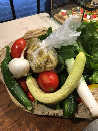 Osteria Al Cicheto : Le verdure del contadino