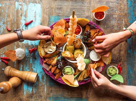 Enchilada : Big Starter Platte