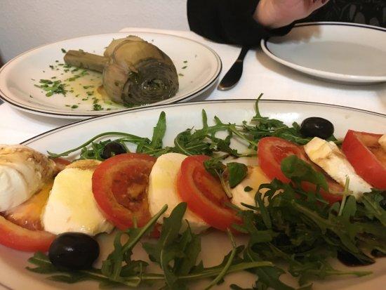 Ristorante Terme di Diocleziano : Caprese salad