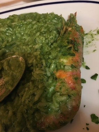 Ristorante Terme di Diocleziano : spinach risotto