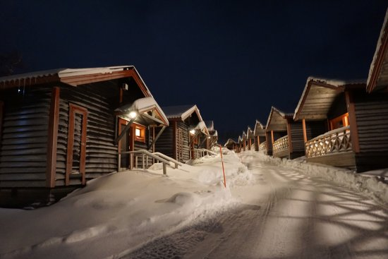 Bjorkliden, Suecia: The cabin village that belongs to the hotel