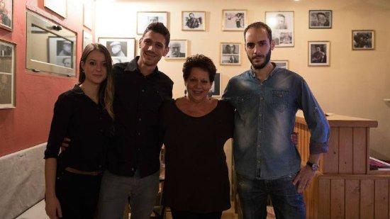 Part of Aptaliko's family: Georgia, Giorgos, Irini, Spiros!