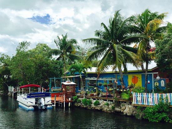 Ramrod Key, FL: House on the canal faced by rooms