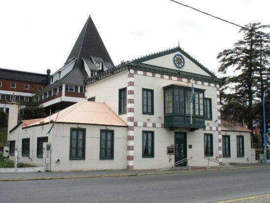 Ushuaia, Argentina: Fachada de la Sede Antigua Casa de Gobierno