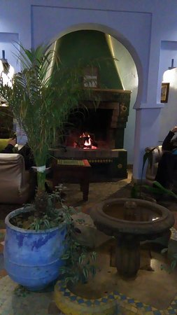 Hotel Riad Casa Hassan Restaurante: Sala de estar