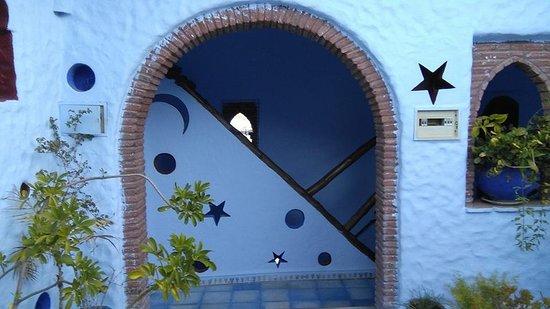 Hotel Riad Casa Hassan Restaurante: Terraço